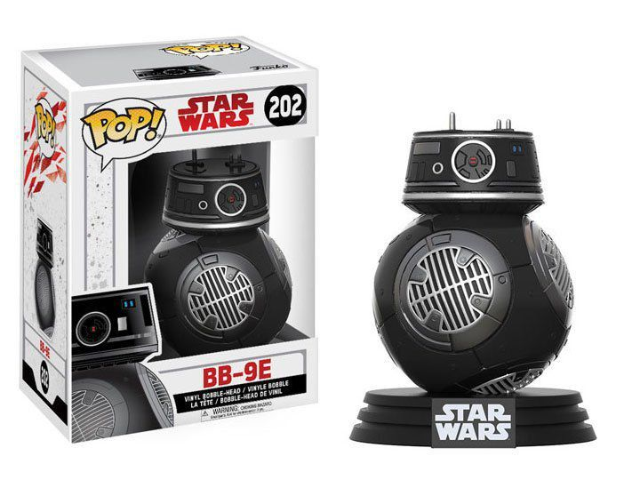 Funko Pop BB-9E: Star Wars: Os Últimos Jedi (The Last Jedi) #202 - Funko