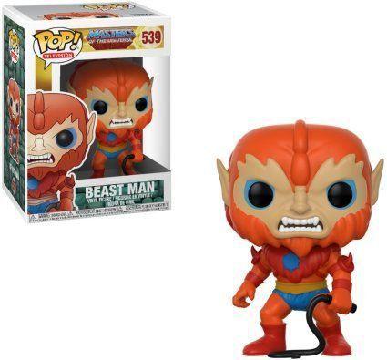 Funko Pop Beast Man: Masters Of The Universe #539 - Funko