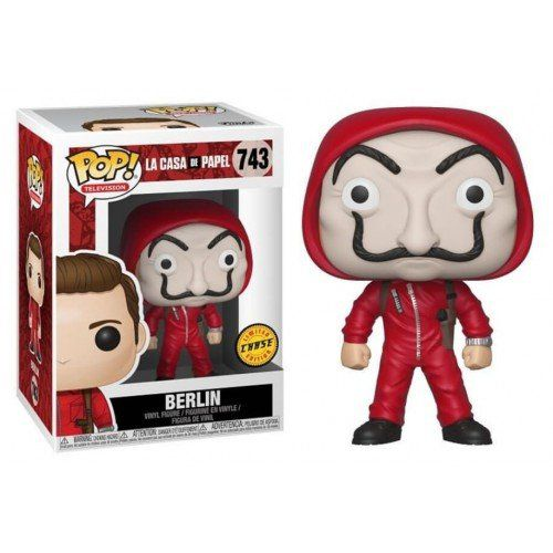 Pop! Berlin (Chase): La Casa De Papel (Exclusivo) #743 - Funko