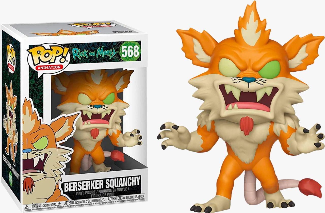 Funko Pop! Berserker Squanchy: Rick and Morty #568 - Funko