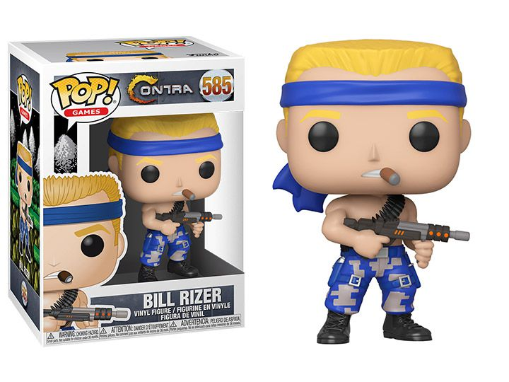 Funko Pop! Bill Rizer: Contra (Games) #585 - Funko