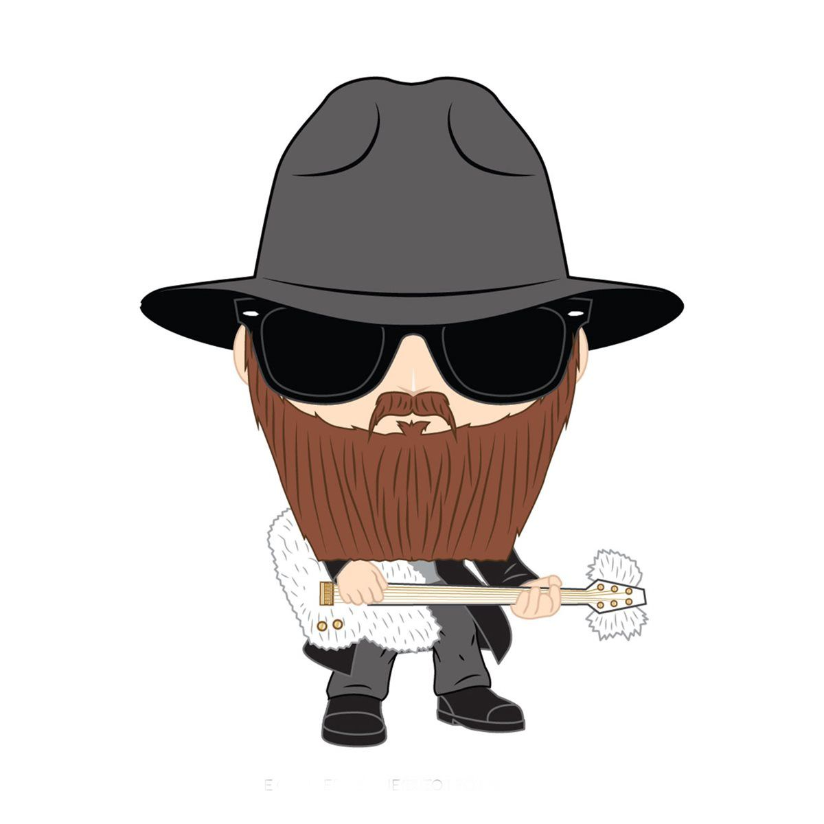 PRÉ VENDA: Funko Pop! Billy Gibbons: ZZ Top - Funko