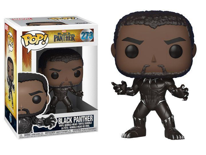 Funko Pop Black Panther: Pantera Negra (Black Panther) #273 - Funko