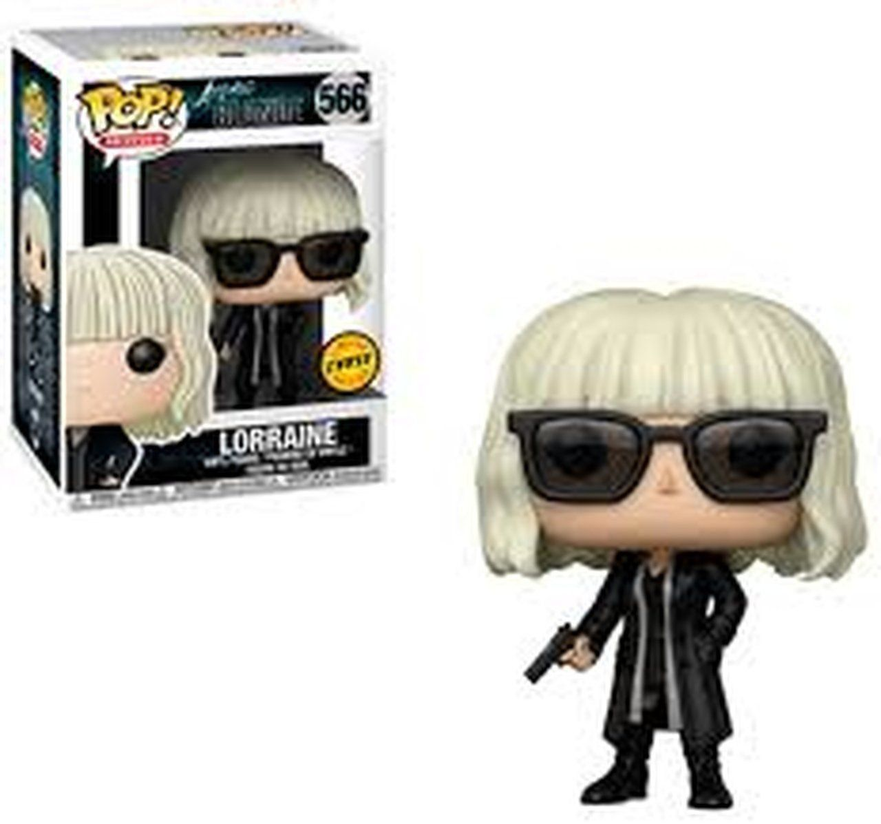 PRÉ VENDA: Funko Pop! Blonde Lorraine with Gun (Chase): Atomica (Atomic) #566 - Funko