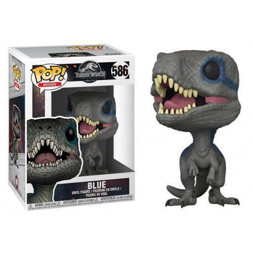 Funko Pop! Blue: Jurassic Park Reino Ameaçado (World Fallen) #586 - Funko