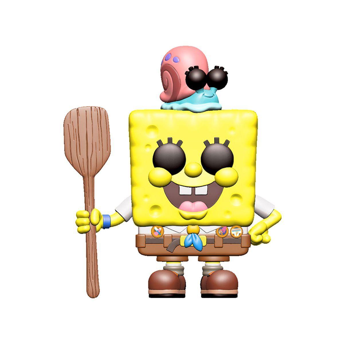 PRÉ VENDA: Funko Pop! Bob Esponja no Camping (Spongebob in Camping): Bob Esponja - O Incrível Resgate (Sponge On The Run) #916 - Funko