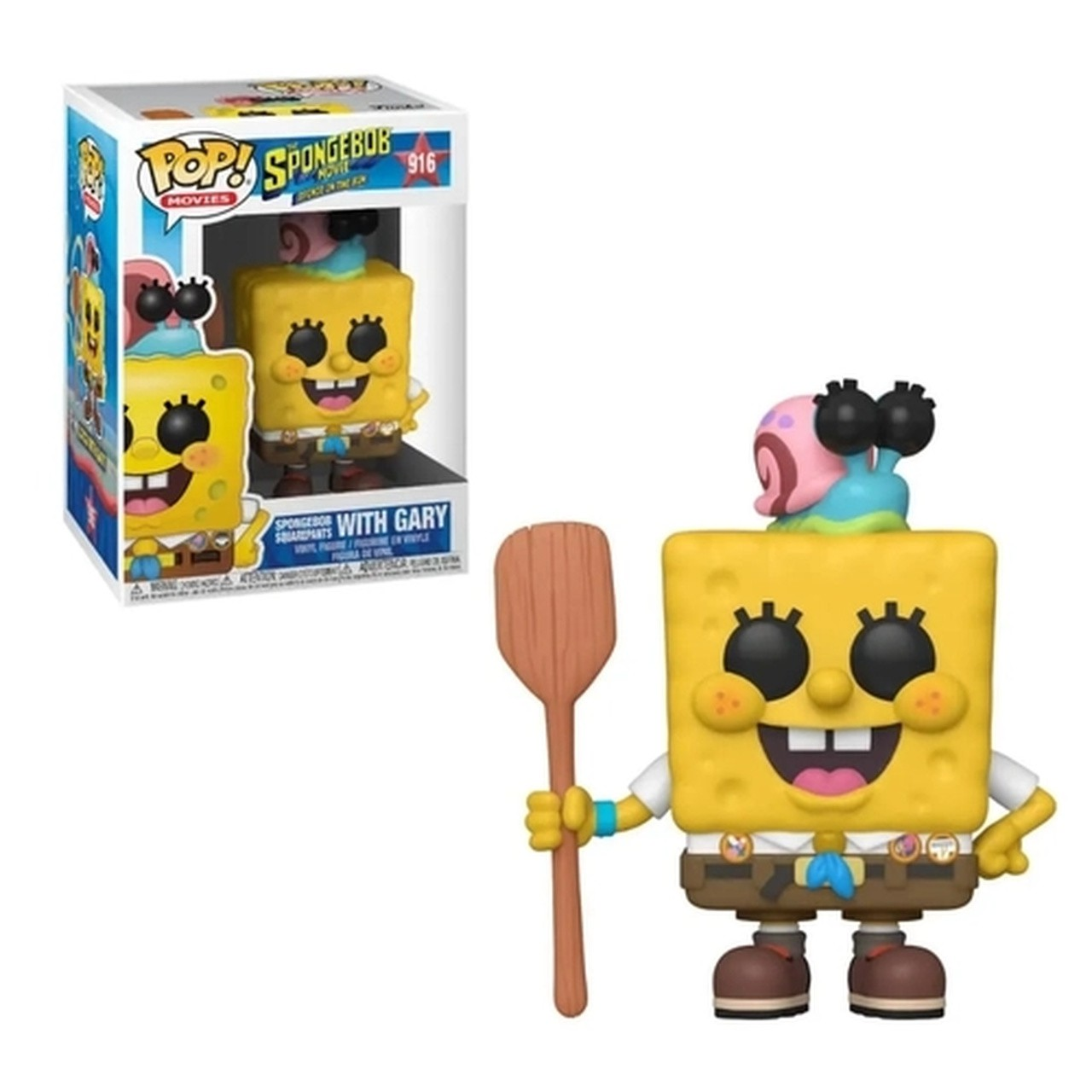 PRÉ VENDA: Funko Pop! Bob Esponja no Camping (Spongebob in Camping): Bob Esponja - O Incrível Resgate (Sponge On The Run) #916 - Funko