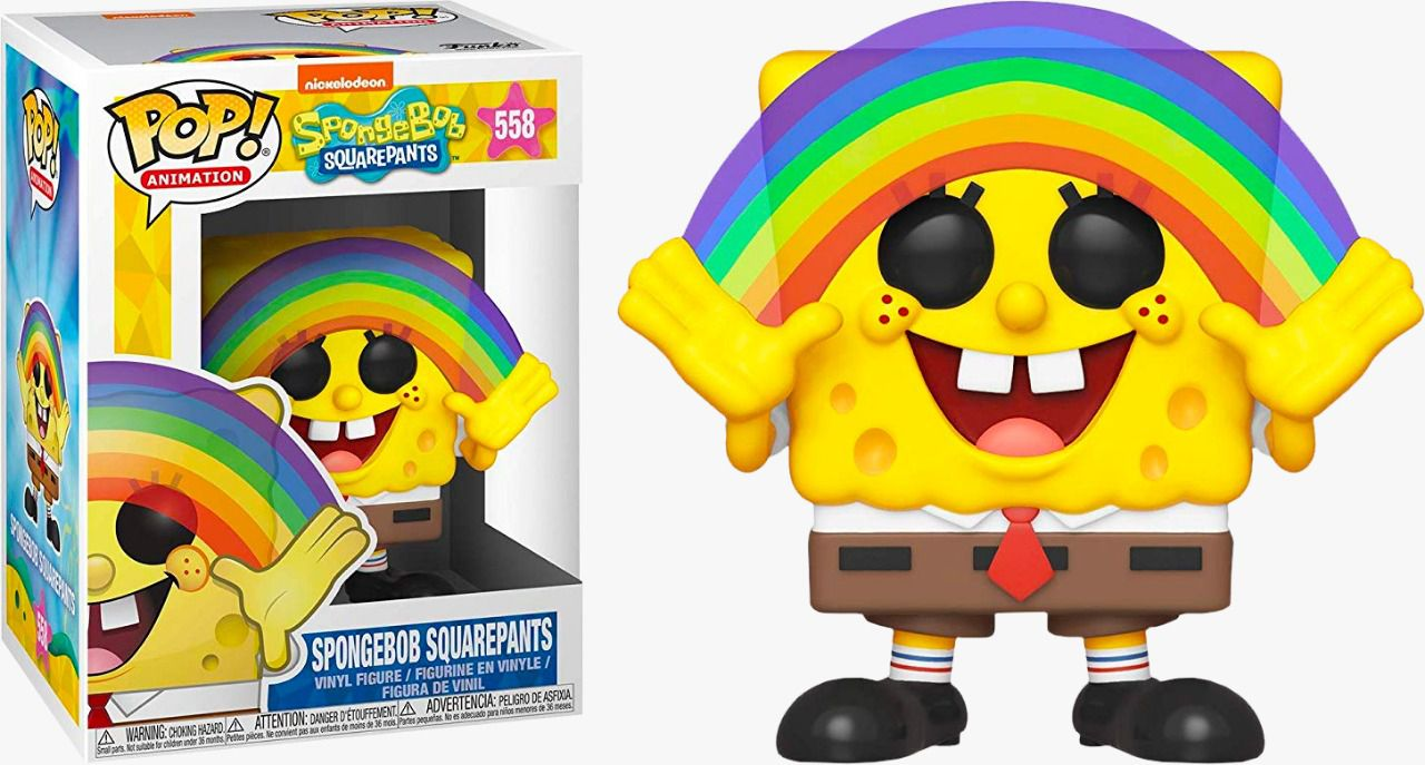 Funko Pop! Bob Esponja (Spongebob Squarepants) Rainbow: Bob Esponja (Spongebob Squarepants) #558 - Funko
