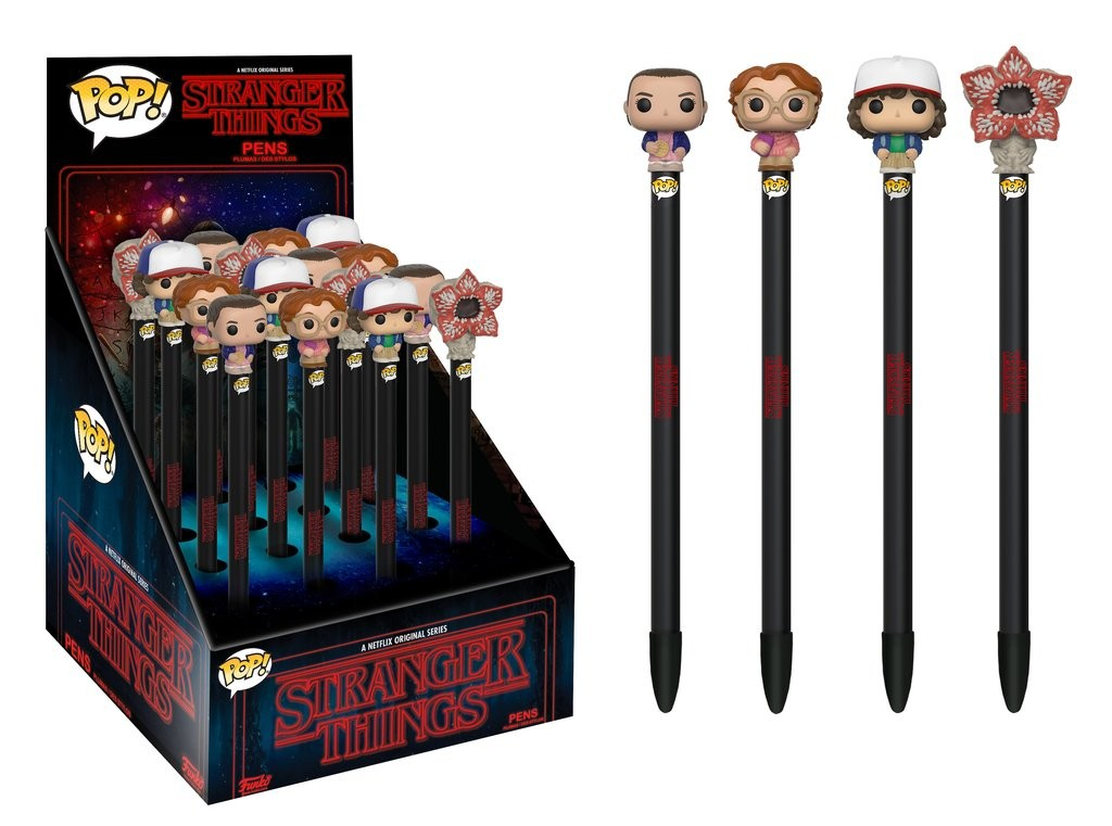 Pop Caneta (Pen Toppers) Eleven: Stranger Things - Funko