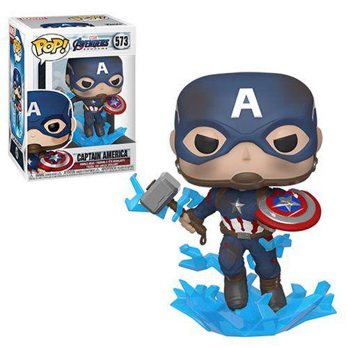 Funko Pop! Capitão América (Captain America): Vingadores Ultimato (Avengers Endgame) #573 - Funko