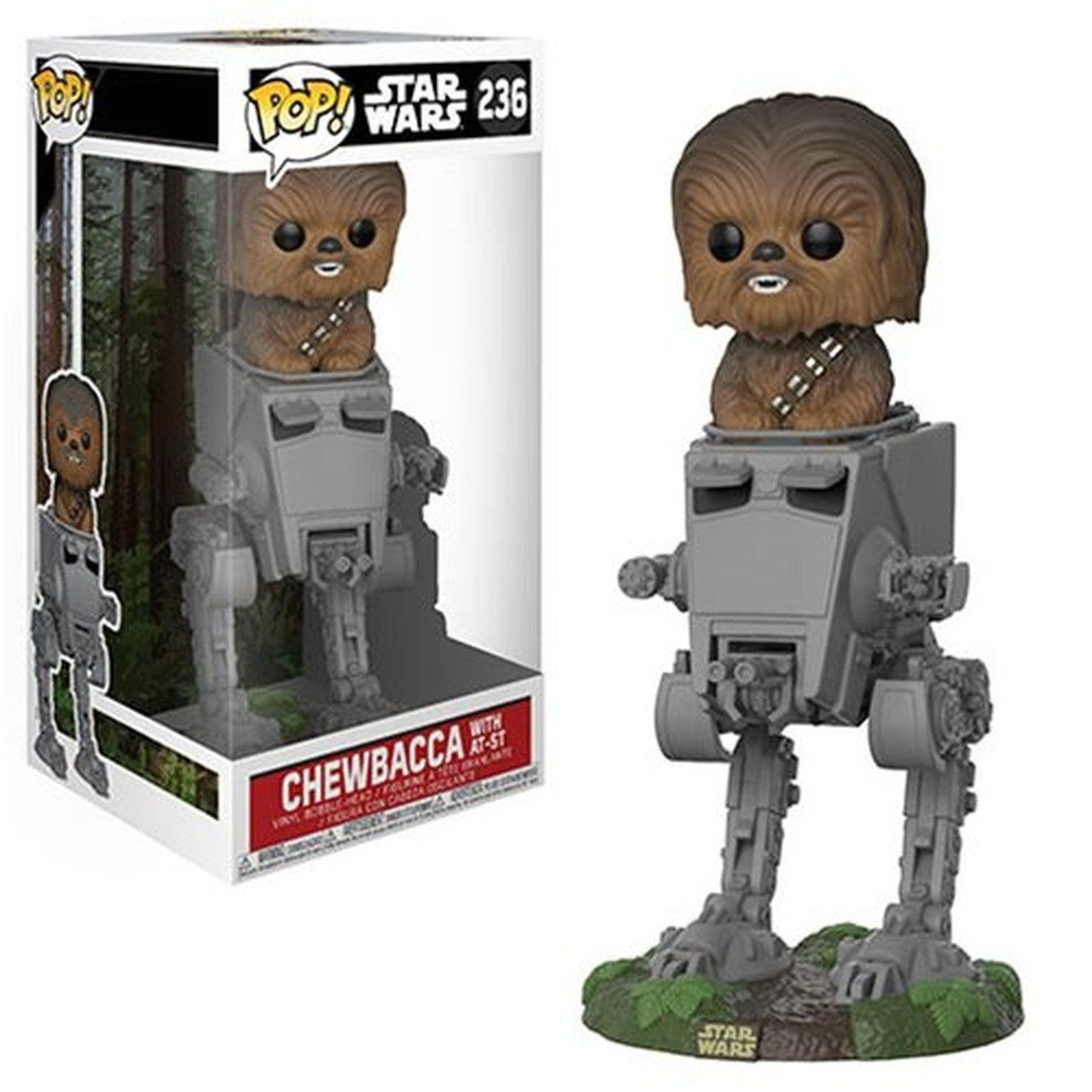 Funko Pop! Chewbacca in AT-ST Deluxe: Star Wars #236 - Funko