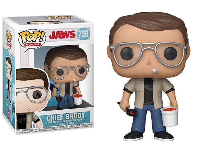 PRÉ VENDA: Funko Pop! Chief Brody: Tubarão (Jaws) #755 - Funko