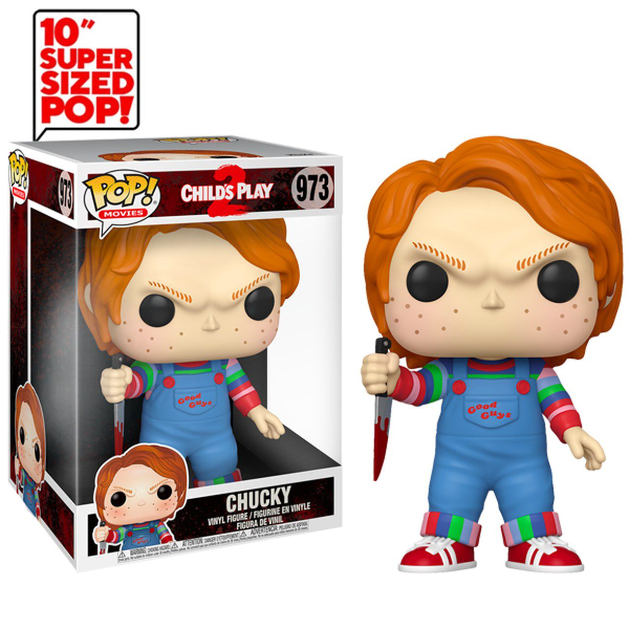 Funko Pop! Chucky: Brinquedo Assassino 2 (Child's Play 2) #973 10