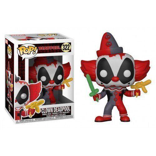 Funko Pop! Clown Deadpool: Deadpool Playtime #322 - Funko
