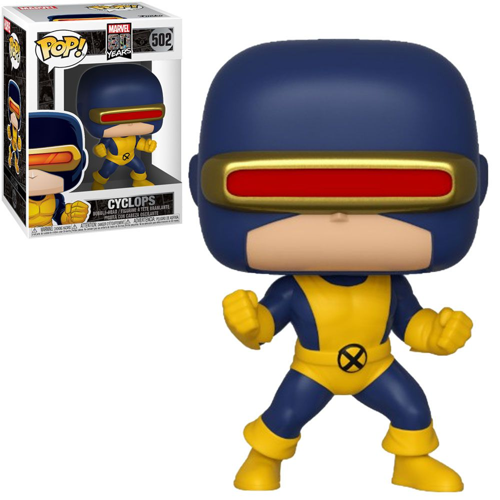 Funko Pop! Ciclope Cyclops First Appearance: X-Men Marvel 80th Anniversary  #502 - Funko