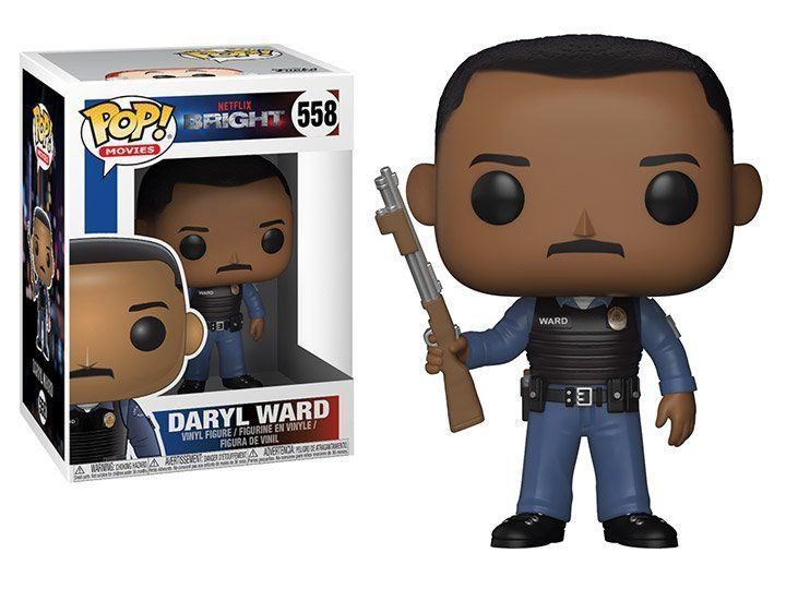 PRÉ VENDA: Funko Pop! Daryl Ward: Bright #558 - Funko