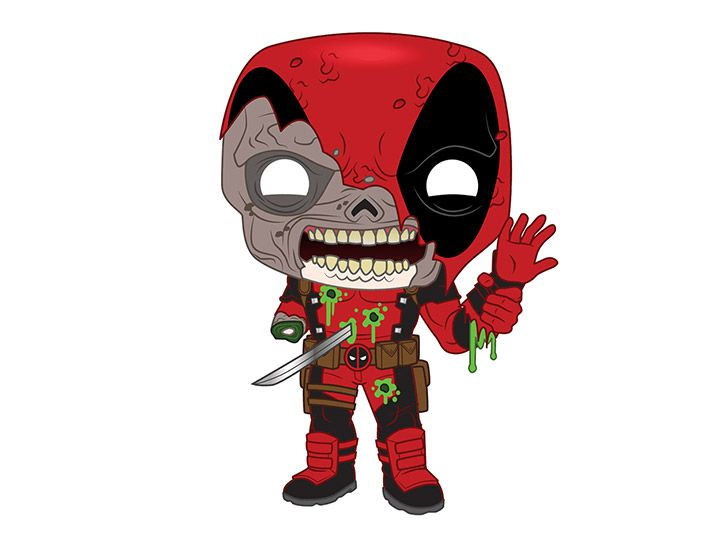 PRÉ VENDA: Funko Pop! Deadpool: Marvel Zombies (Marvel) - Funko