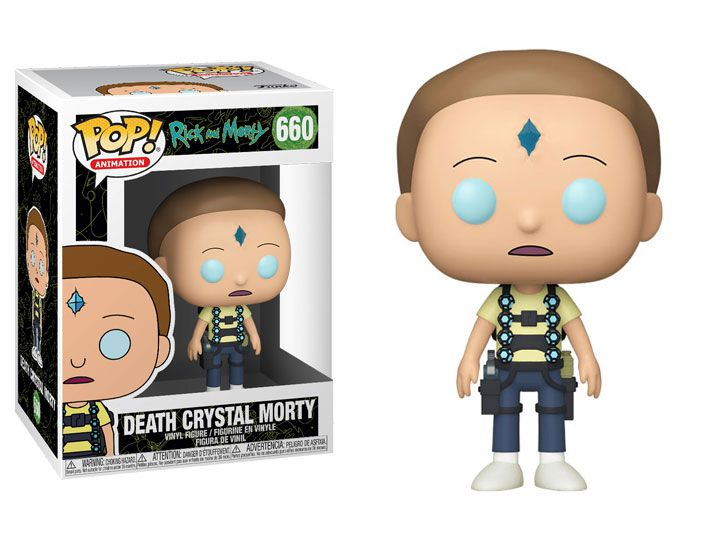 Funko Pop! Death Crystal Morty: Rick And Morty #660 - Funko