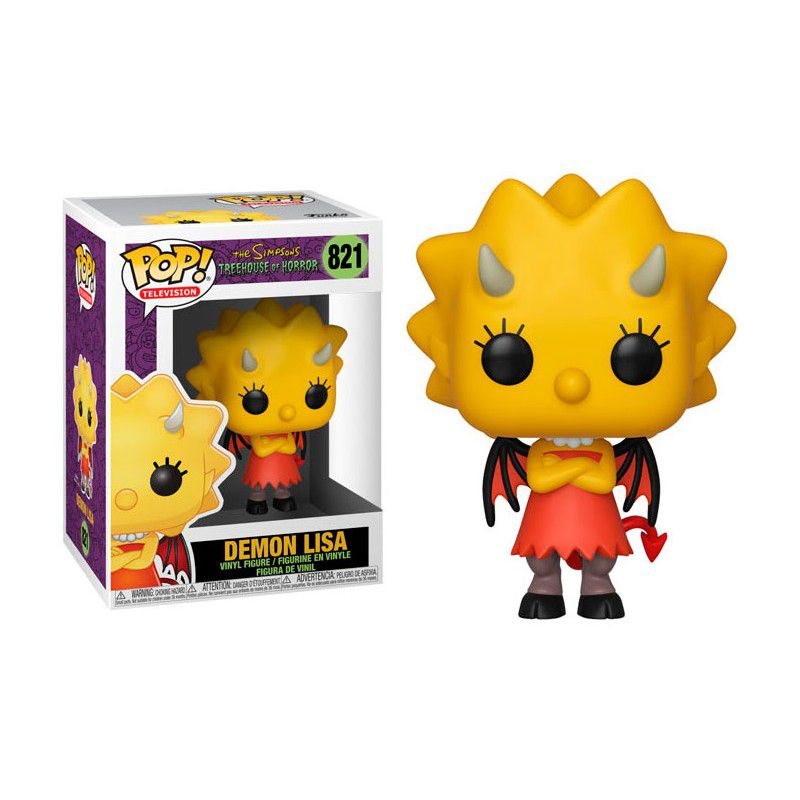 Funko Pop! Demon Lisa: The Simpsons (Treehouse of Horror) #821 - Funko