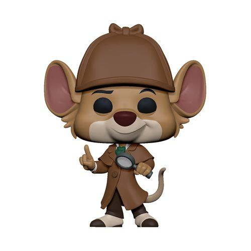 PRÉ VENDA: Funko Pop! Detetive Basil: As Peripécias do Ratinho Detetive (The Great Mouse) - Funko