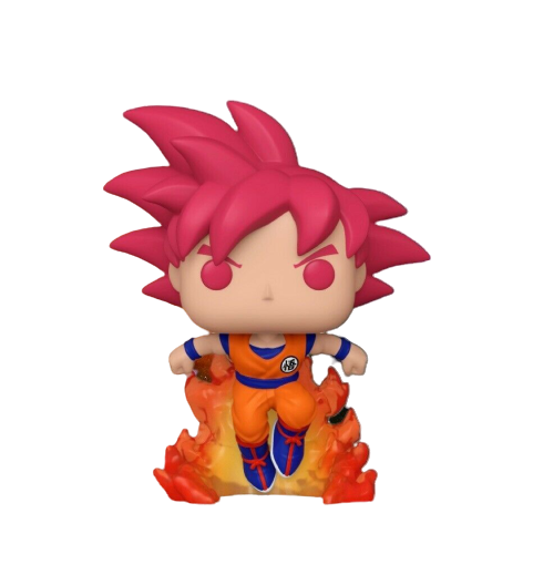 Funko Pop! Deus Super Saiyajin Goku: Dragon Ball Z (EXCLUSIVO SDCC 2020) (Edição Limitada) #827 - Funko