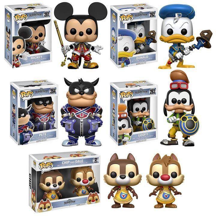 PRÉ VENDA: Pack com 6: Kingdom Hearts - Pop Funko