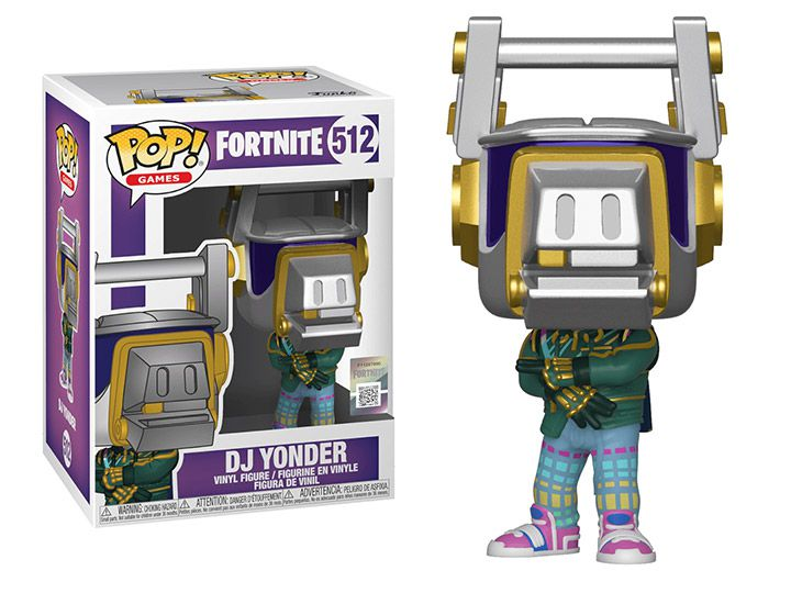 Funko Pop! DJ Yonder: Fortnite #512 - Funko