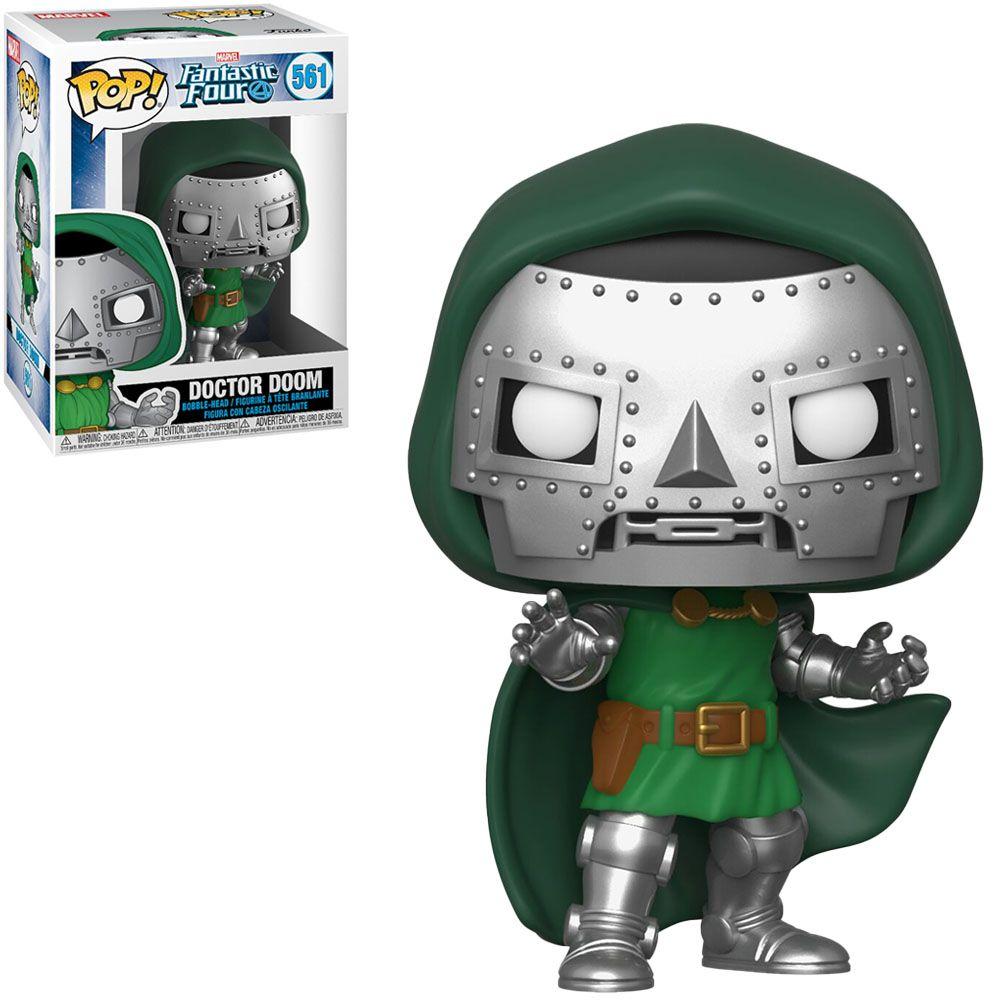Funko Pop! Doutor Destino (Doctor Doom): Quarteto Fantástico (Fantastic Four) #561 - Funko
