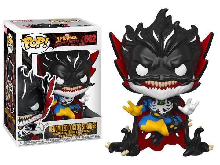 Funko Pop! Doutor Estranho Venom (Venomized Doctor Strange): Marvel #602 - Funko
