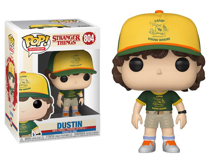 Funko Pop! Dustin (At Camp): Stranger Things #804 - Funko