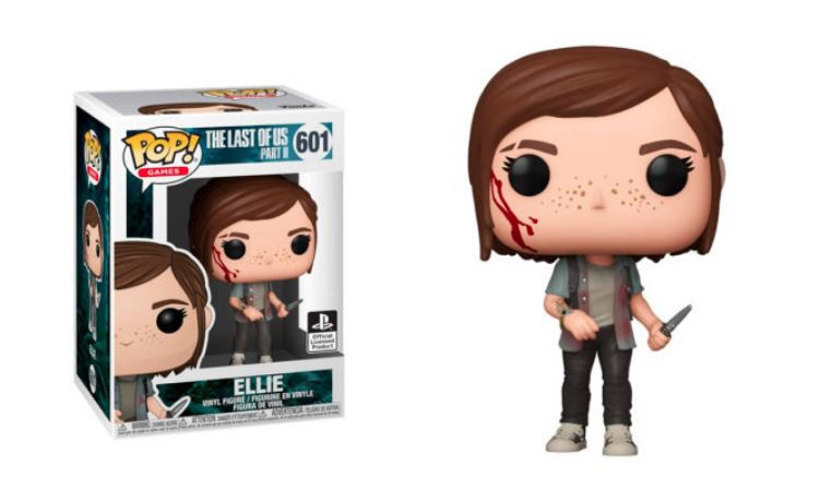 PRÉ VENDA: Funko Pop! Ellie: The Last of Us 2: #601  (PlayStation) Exclusivo - Funko