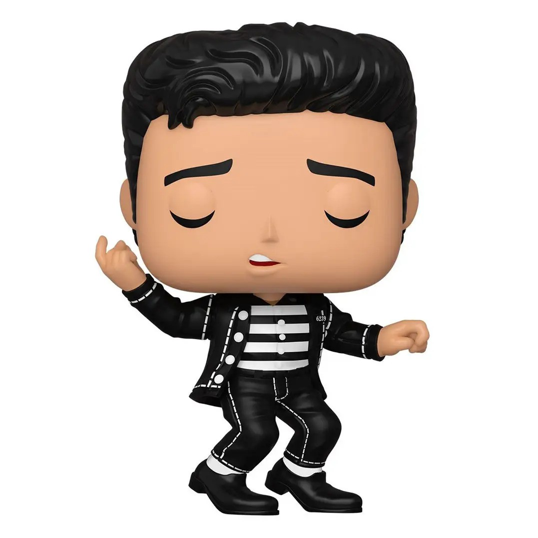 PRÉ VENDA: Funko Pop! Elvis Presley (Roupa Listrada) #186 - Funko