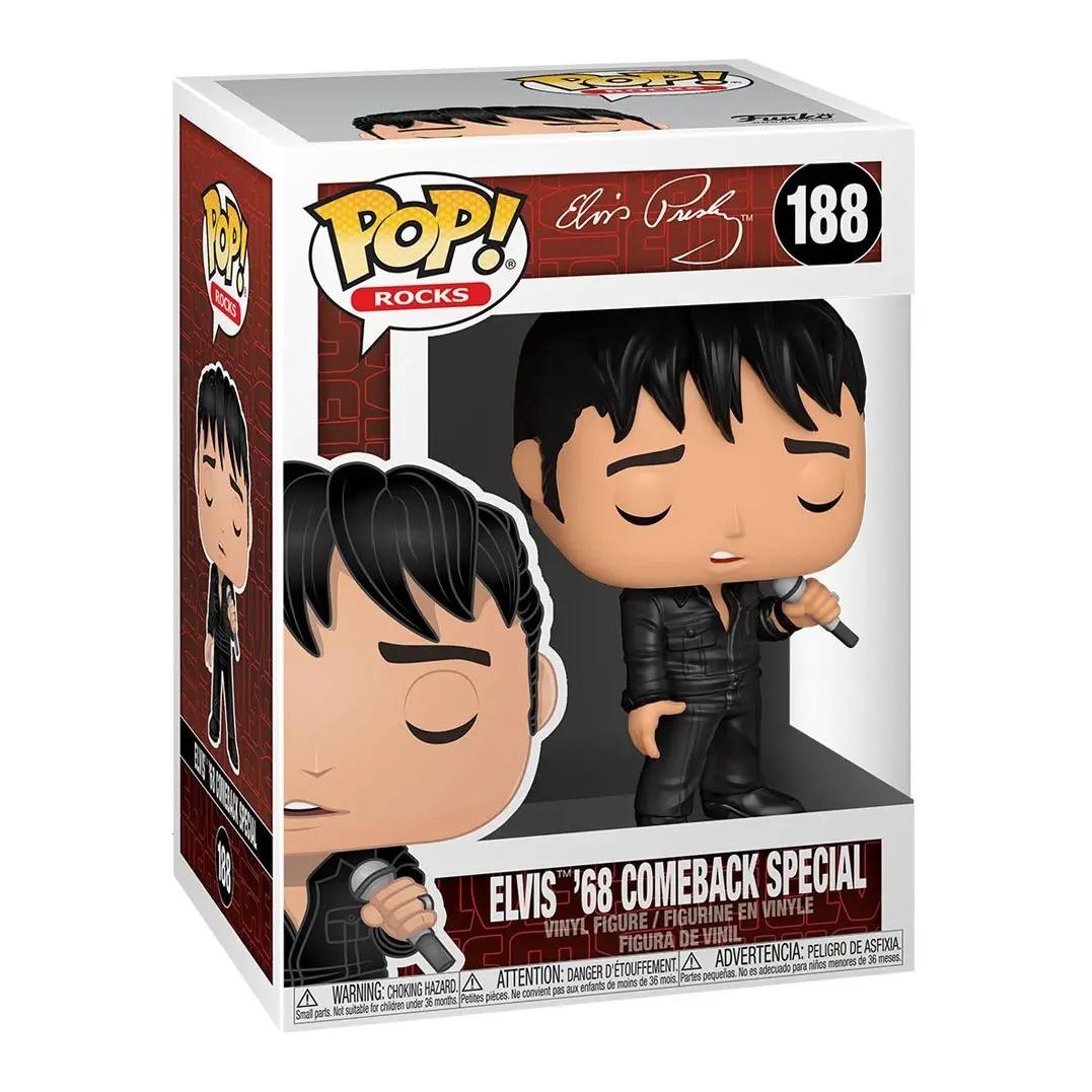 Funko Pop! Elvis Presley (Roupa Preta) #188 - Funko