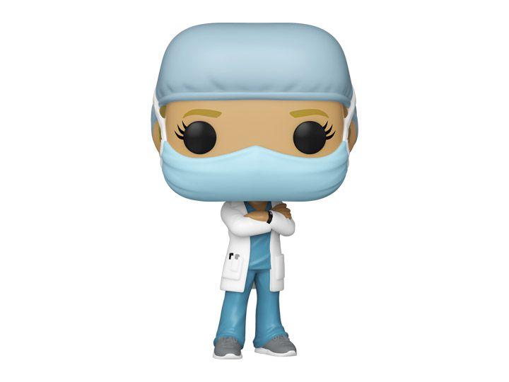Funko Pop! Enfermeira (Linha de Frente) #1 - Heróis - Funko Front Line Worker Hospital