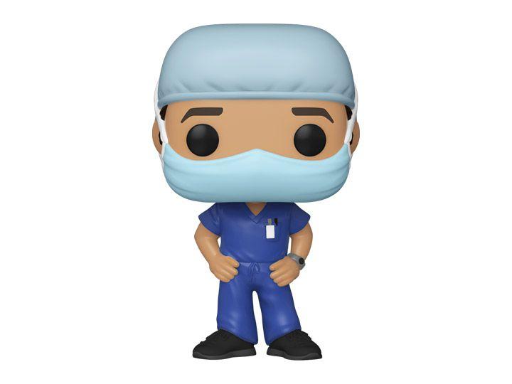 Funko Pop! Enfermeiro (Linha de Frente) #1 - Heróis - Funko Front Line Worker Hospital