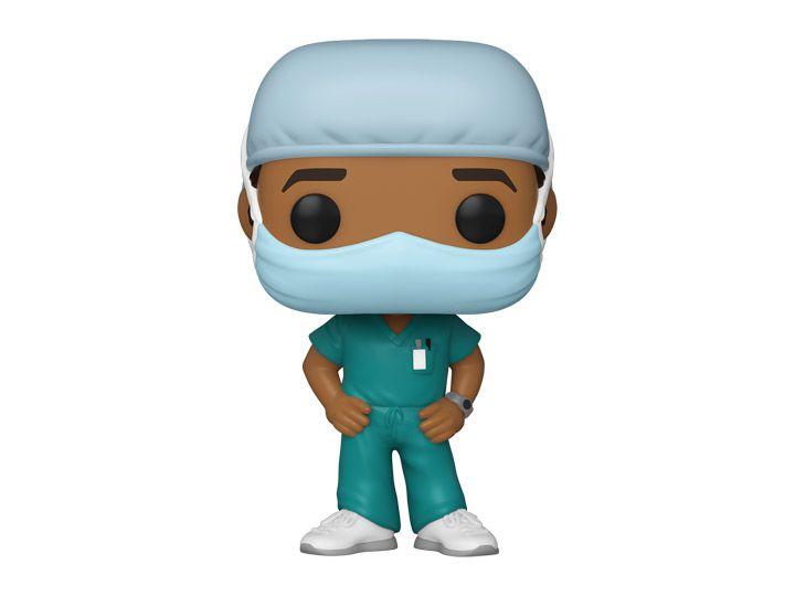 Funko Pop! Enfermeiro (Linha de Frente) #2 - Heróis - Funko Front Line Worker Hospital