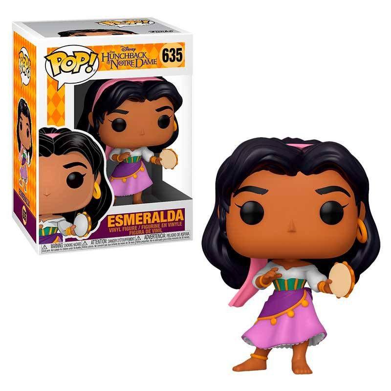 Funko Pop! Esmeralda: O Corcunda de Notre Dame (The Hunchback Of Notre Dame) #635 - Funko