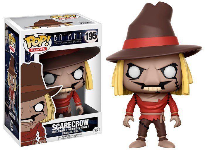 Funko Pop Espantalho (Scarecrow): Batman the Animated Series #195 - Funko