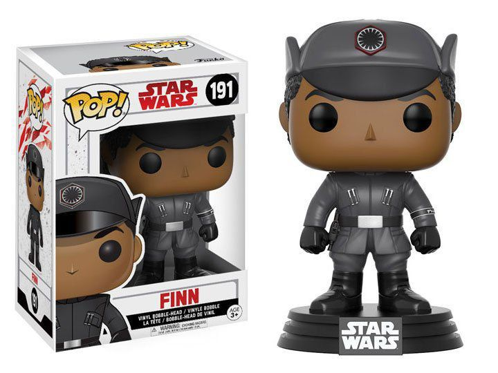 Funko Pop Finn: Star Wars: Os Últimos Jedi (The Last Jedi) #191 - Funko