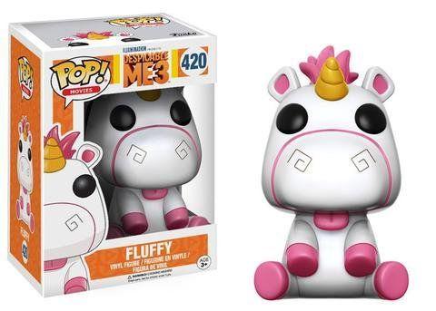 Funko Pop Fluffy: Meu Malvado Favorito 3 #420 - Funko