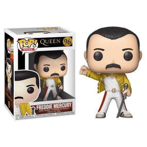 Funko Pop! Freddie Mercury (Wembley): Queen (Rock) #96 - Funko
