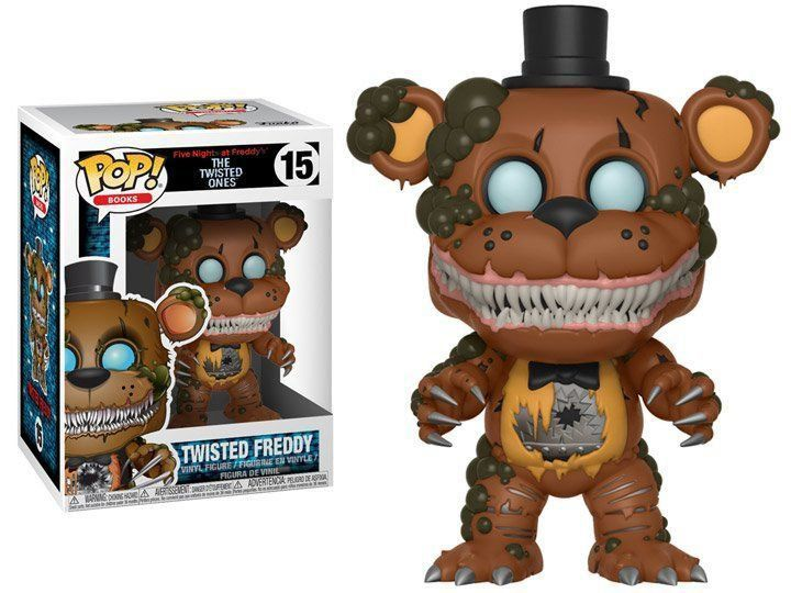 PRÉ VENDA: Funko Pop! Freddy: The Twisted Ones (FNAF) #15 - Funko