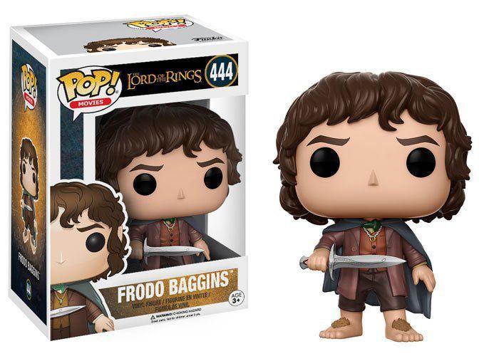 Funko Pop Frodo Baggins: O Senhor dos Anéis #444 - Funko