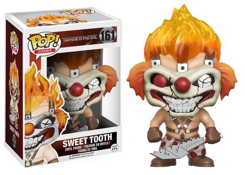 Funko Pop! Games: Twisted Metal Sweet Tooth #161 - Funko