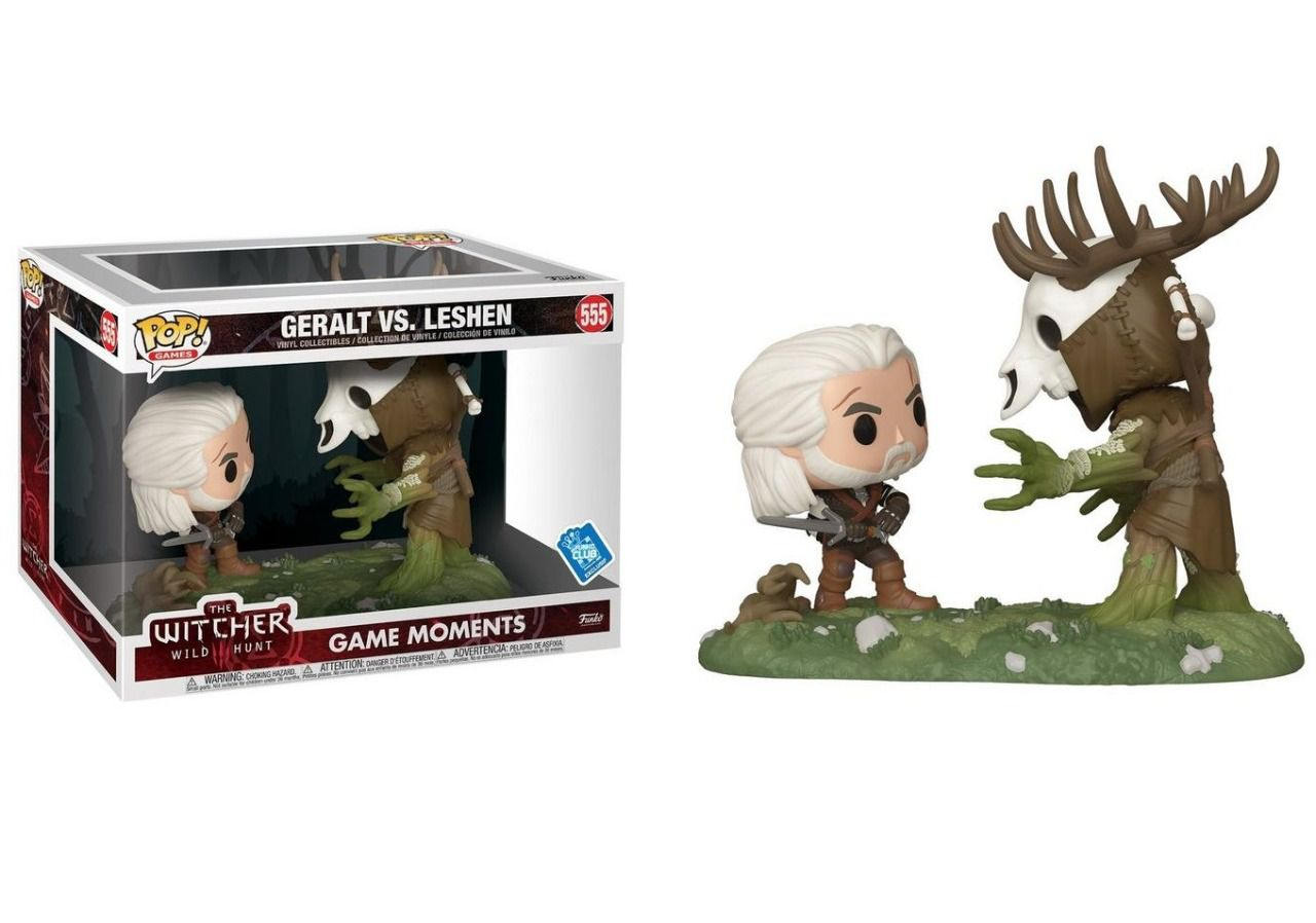 PRÉ VENDA: Pop! Geralt Vs Leshen: The Witcher III: Wild Hunt (Game Moments) Exclusivo #555 - Funko