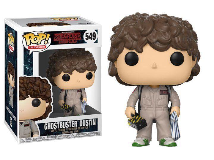 Funko Pop Ghostbuster Dustin: Stranger Things #549 - Funko (Apenas Venda Online)