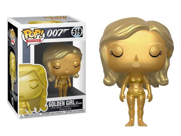 Funko Pop Golden Girl: 007 James Bond #519 - Funko