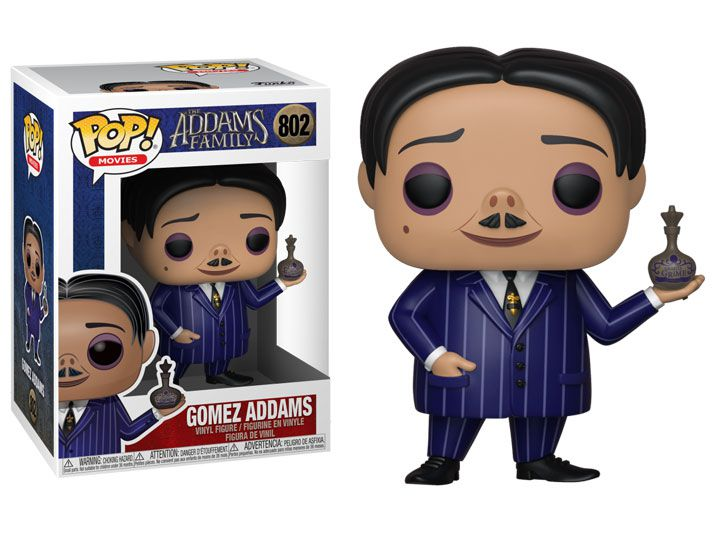 Funko Pop! Gomez: A Família Addams (The Addams Family Animated) #802 - Funko
