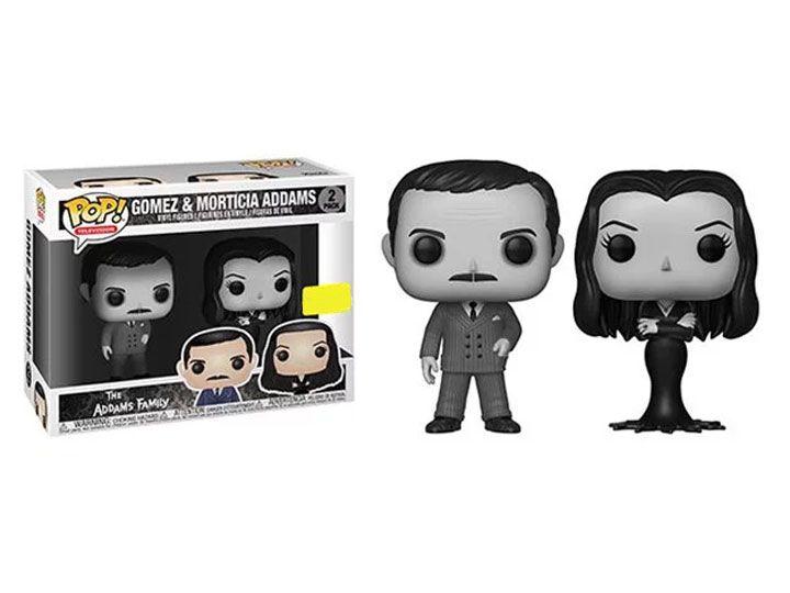 Funko Pop! Gomez e Morticia Addams (Black & White): A Família Addams (The Addams Family) Exclusivo (Pack de 2) #2 - Funko (Apenas Venda Online)