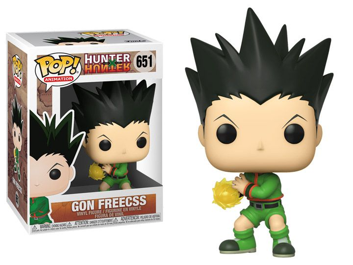 PRÉ VENDA: Funko Pop! Gon Freecss: Hunter × Hunter #651 - Funko - EV